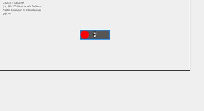 after click on node