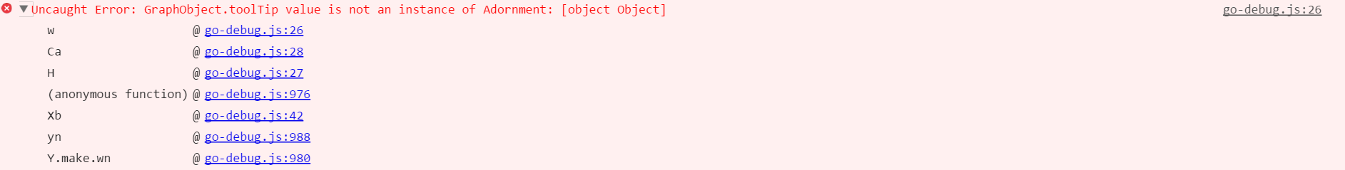 Node Tooltip Issue - GraphObject toolTip value is not an