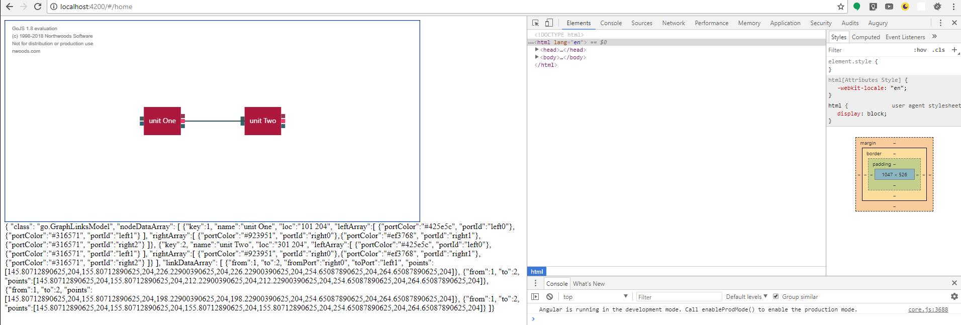 Integrating GoJS 1 8 17 with a Angular App - GoJS - Northwoods Software