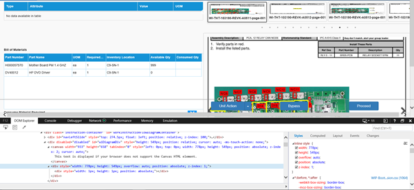 Go JS JSON array is not rendering properly in browser IE 11 version